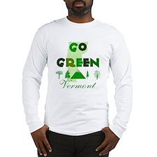 Go Green Vermont Long Sleeve T-Shirt