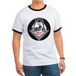 Masonic Motorcycle Ringer T