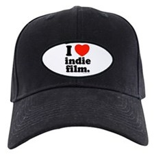 I Love Indie Film Baseball Hat