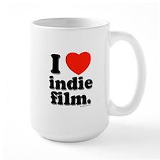 I Love Indie Film Mug