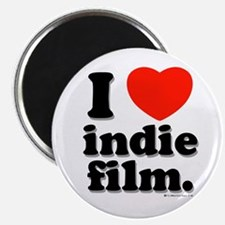 "I Love Indie Film 2.25"" Magnet (100 pack)"