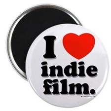 "I Love Indie Film 2.25"" Magnet (10 pack)"