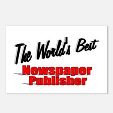 """The World's Best Newspaper Publisher"" Postcards ("
