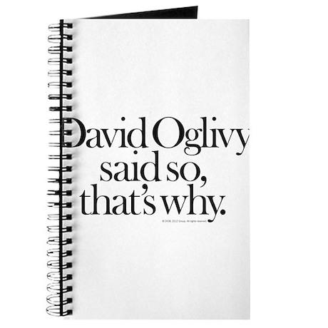 David Oglivy Journal