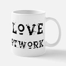 i love footwork Mug