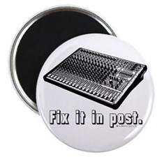 """Fix it in Post! 2.25"""" Magnet (10 pack)"""