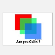 Are You Gellin? Postcards (Package of 8)