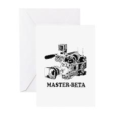 MasterBeta! Greeting Card