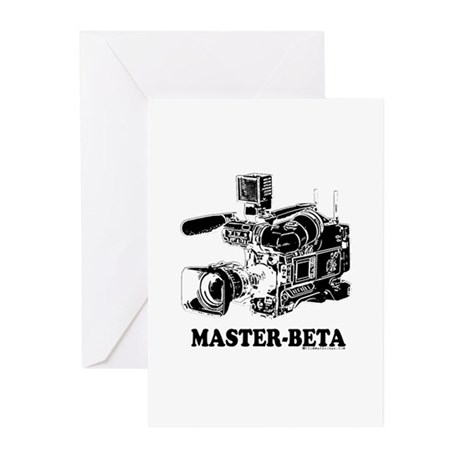 MasterBeta! Greeting Cards (Pk of 20)