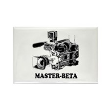 MasterBeta! Rectangle Magnet