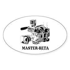 MasterBeta! Oval Decal