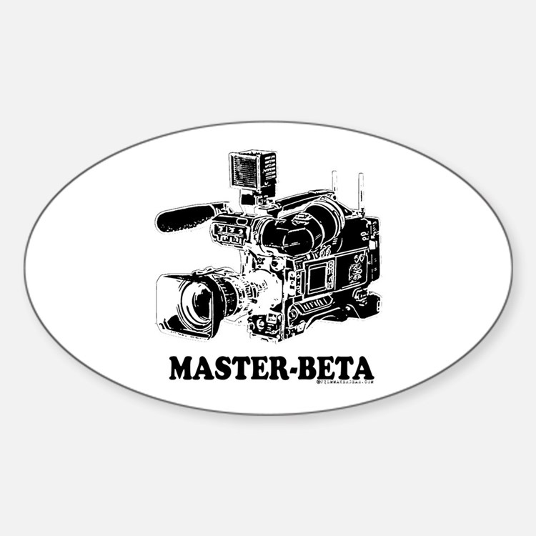 MasterBeta! Oval Decal