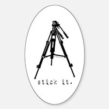 Tripod - Stick it! Oval Decal