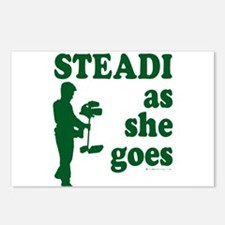 Steadi as she Goes! Postcards (Package of 8)