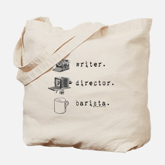 Triple Threat Filmmaking Tote Bag