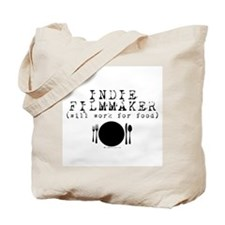 Filmmaker - will work for food! Tote Bag