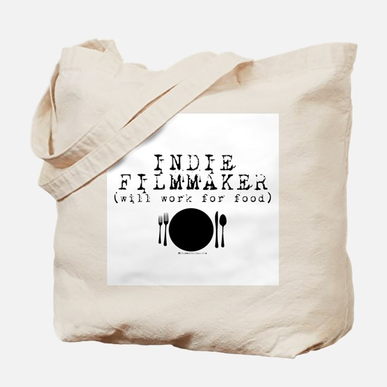 Filmmaker - will work for food! Tote Bag