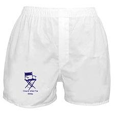 Directors Know What We're Doi Boxer Shorts