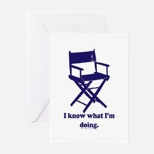 Directors Know What We're Doi Greeting Cards (Pk o