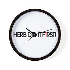 Herb Lubalin Wall Clock