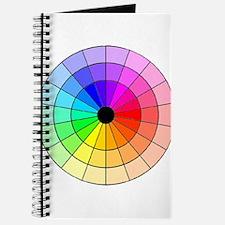 Unique Color wheel Journal