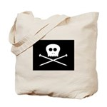 Craft Pirate Needles Tote Bag w/ Craftster Logo