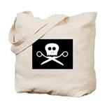 Craft Pirate Scissors Tote Bag w/ Craftster Logo