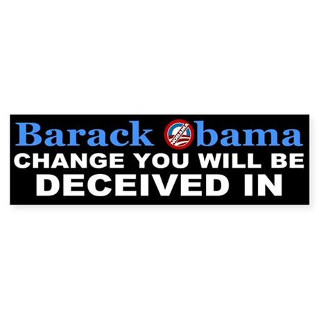Deceived Bumper Sticker
