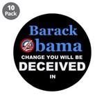 "Deceived 3.5"" Button (10 pack)"