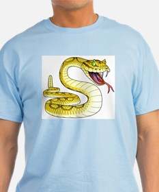 Rattlesnake Snake Tattoo Art T-Shirt