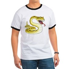 Rattlesnake Snake Tattoo Art (Front) T