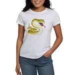 Rattlesnake Snake Tattoo Art (Front) Women's T-Shi