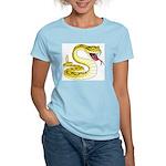 Rattlesnake Snake Tattoo Art Women's Light T-Shirt