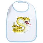 Rattlesnake Snake Tattoo Art Bib