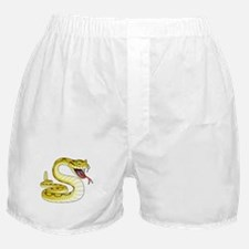 Rattlesnake Snake Tattoo Art Boxer Shorts