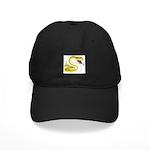 Rattlesnake Snake Tattoo Art Black Cap