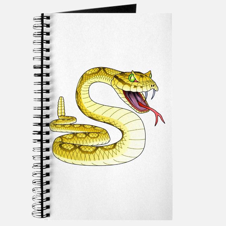 Rattlesnake Snake Tattoo Art Journal