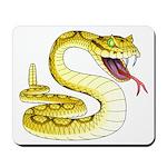 Rattlesnake Snake Tattoo Art Mousepad