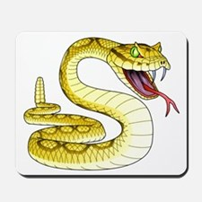 Rattlesnake Snake Tattoo Art Mousepad