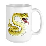 Rattlesnake Snake Tattoo Art Large Mug