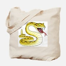 Rattlesnake Snake Tattoo Art Tote Bag