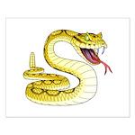 Rattlesnake Snake Tattoo Art Small Poster
