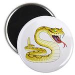 Rattlesnake Snake Tattoo Art Magnet