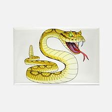 Rattlesnake Snake Tattoo Art Rectangle Magnet