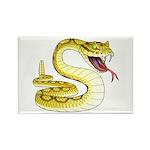 Rattlesnake Snake Tattoo Art Rectangle Magnet (10