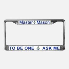 Masonic 2B1ASK ME License Plate Frame