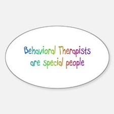 Behavioral Therapists Are Special People Decal