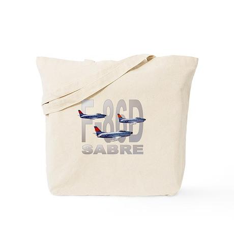 F-86 SABRE FIGHTER Tote Bag