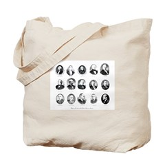 Freemason Presidents Tote Bag