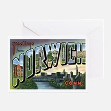 Norwich Connecticut CT Greeting Card